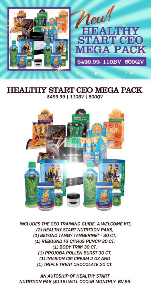 Healthy Start Mega CEO Pack