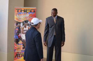 Dr. Wallach and Theo Ratliff at 2013 Convention